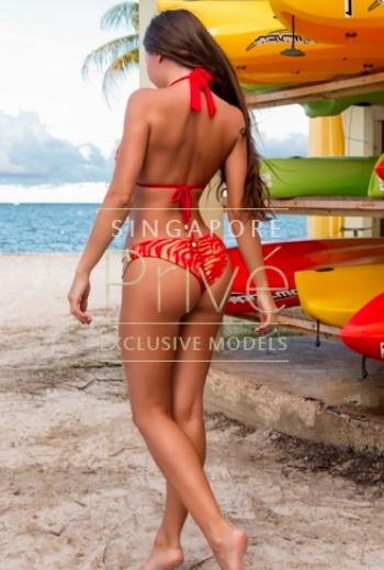 Singapore High-end Escort curvy model Angel